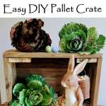 Easy DIY Pallet Crate for Decor