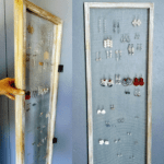 DIY Hinged Vintage Earring Organizer