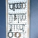 DIY Rustic Pegboard Jewelry Organizer