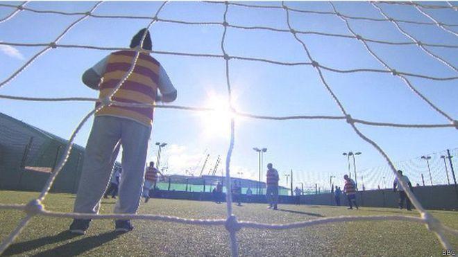 Futbol caminando