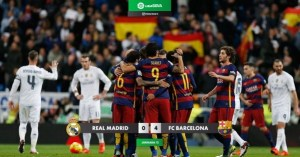 Real Madrid 0-4 Barcelona