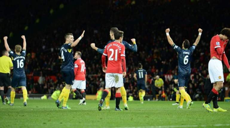 United cae ante Southampton