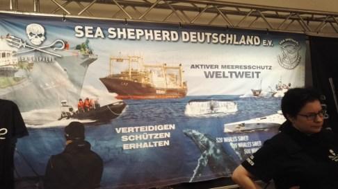 Sea Shepherd werben für den Erhalt und Schutz der Meere