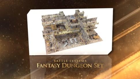 Bestes Gelände-Produkt: Fantasy Dungeon Set von Battle Systems.