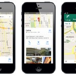 Google Maps iOS Screens