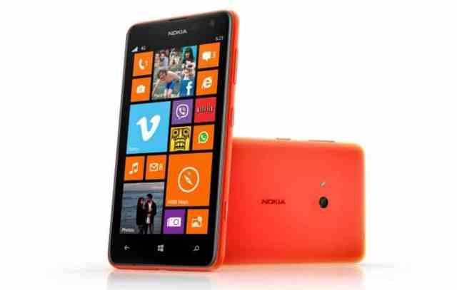 Lumia 625 - Tela de 4.7 polegadas e conexão 4G
