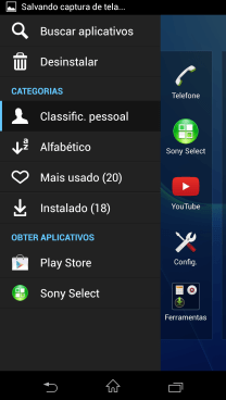 review xperia z1 - apps