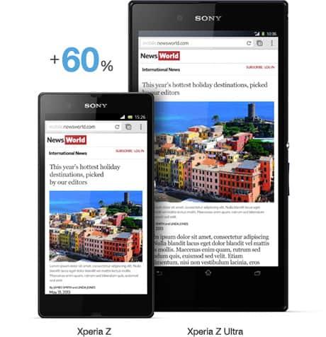 Melhores smartphones do Brasil - Xperia Z Ultra