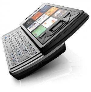 Sony Xperia X1, lançado em 2008 com Windows Mobile
