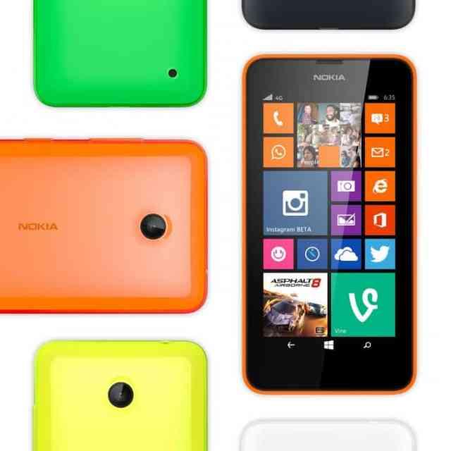 Lumia 635 Dual Sim