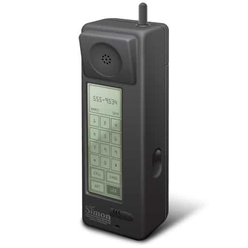 IBM Simon - Primeiro smartphone do mundo
