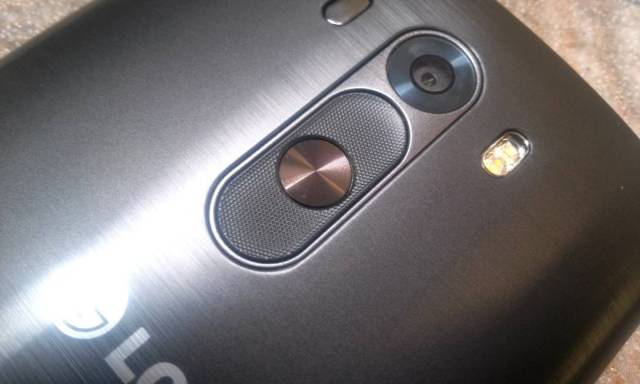 review LG G3 - smart button