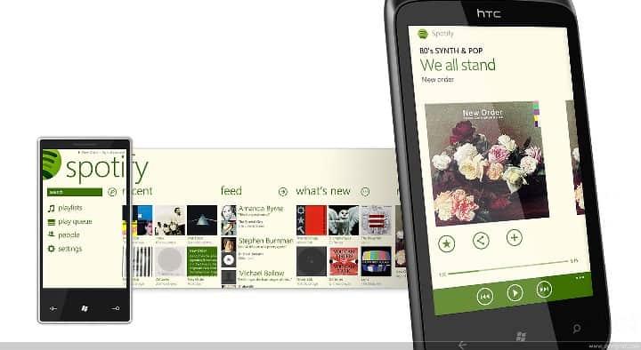 SpotyFy Windows Phone