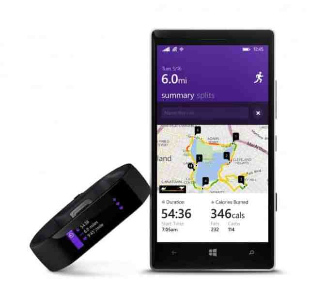 Microsoft health e microsoft band
