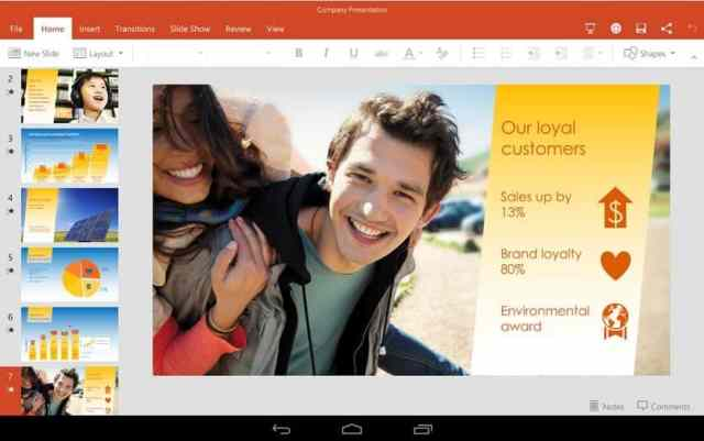 powerpoint android