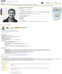 'An Amaz-ing Resume - Philippe Dubost' - www_phildub_com