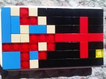 lego mosaic - brickcase