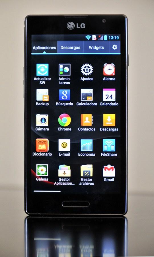 LG Optimus L9 - Lista de aplicaciones