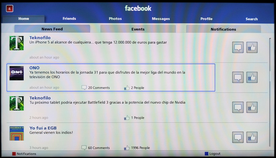 Panasonic smart tv facebook tekn filo for Smart pic for facebook