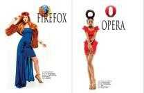 Firefox y Opera