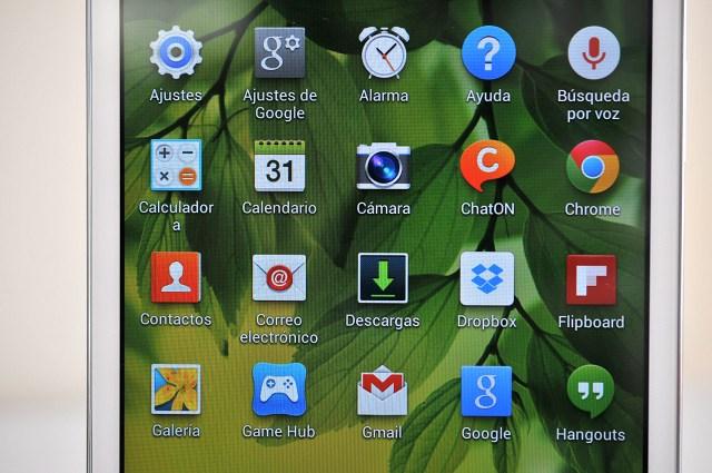 Samsung Galaxy Tab 3 8.0 - pantalla