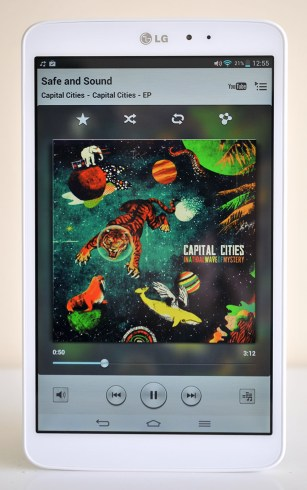 LG GPad 8.3 - Musica