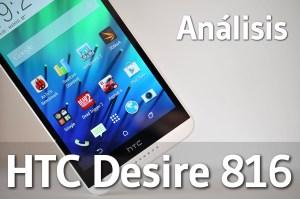 HTC Desire 816 - Analisis