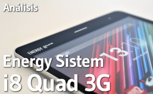 Tablet Energy Sistem i8 Quad 3G - Analisis