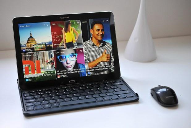 Samsung Galaxy NotePRO - Teclado