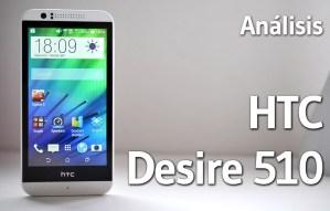 HTC Desire 510 - Analisis