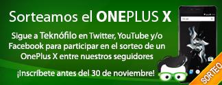 Sorteo OnePlus X minibanner