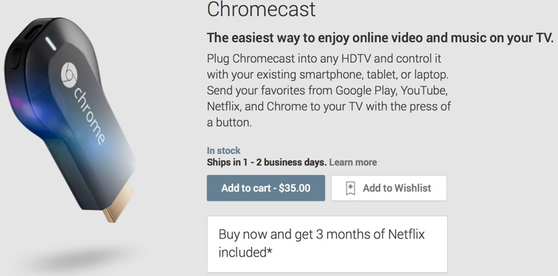 Google Rilis Chromecast