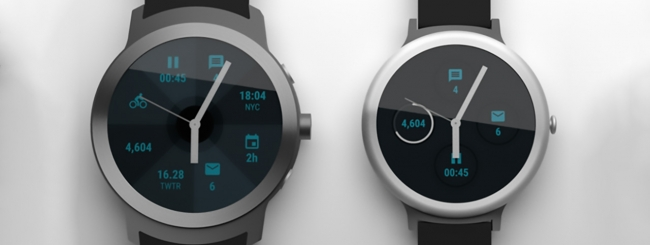 Google realizza due smartwatch con Android Wear