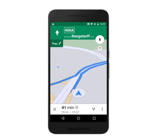 Google Maps Offline Navigasyon ve Arama Kullanımda