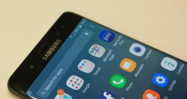 """Yenilenen Galaxy Note 7'lere """"yeşil"""" pil simgesi"""