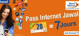 les nouveaux pass internet sur mobile Jawal