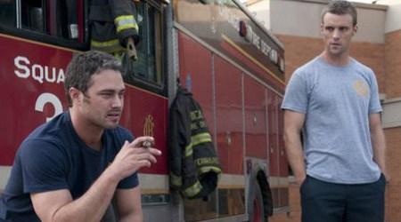 Chicago Fire_Taylor Kinney e Jesse Spencer