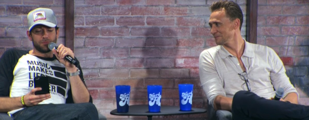 Tom Hiddleston parla del teatro, di Thor Ragnarok e di Pokemon Go al Nerd HQ 2016