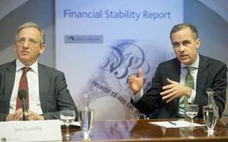 Sir Jon Cunliffe (left) and Mark Carney (right) are the men in charge with overseeing risks to the economy