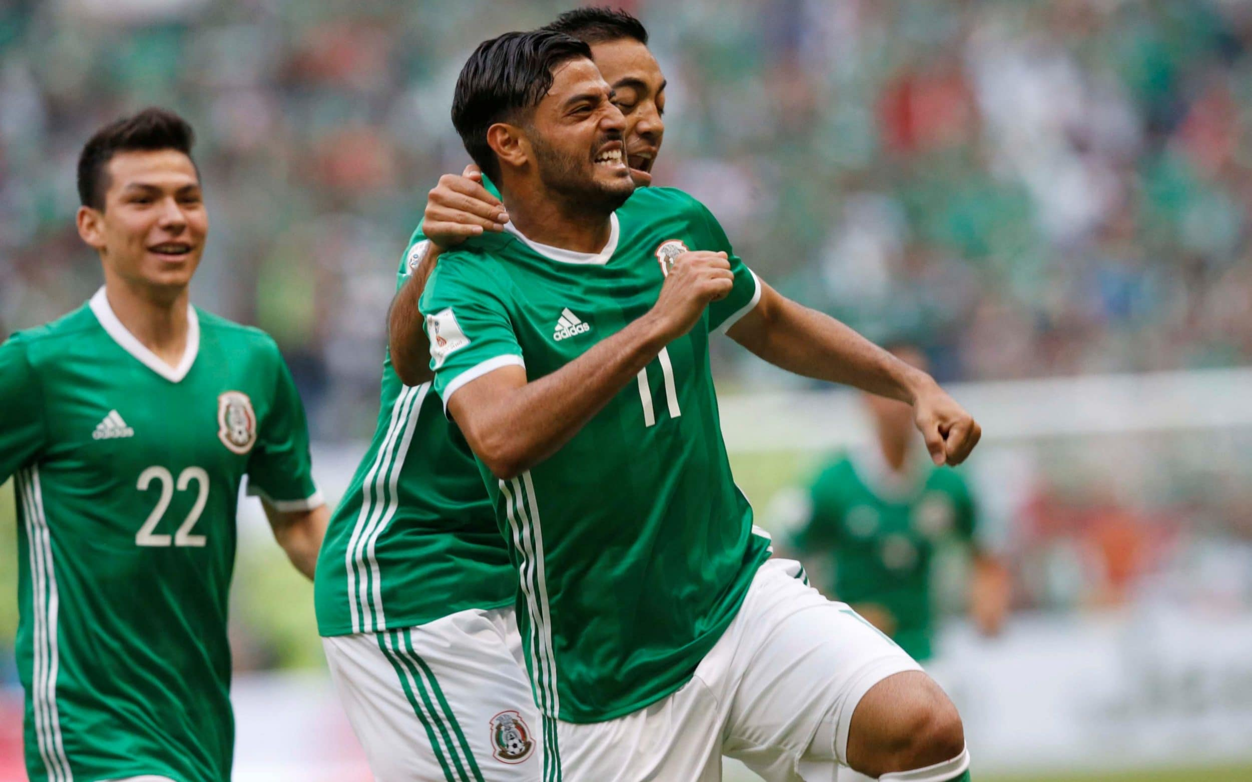 Mexico World Cup 2018 squad  Latest player news and injury information Carlos Vela