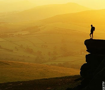 Stanage Edge, Derbyshire, Walk of the Month