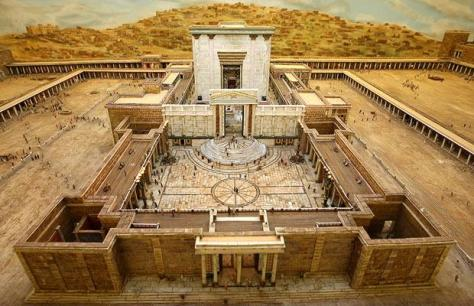 Model of the Herods Temple