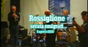 Serata Emigrati a Rossiglione