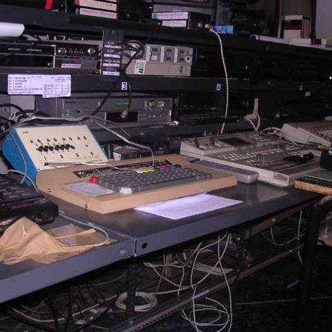 Lo studio di TeleMasone - 2004