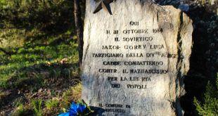 Ricordo dei caduti russi nell'anniversario della Liberazione