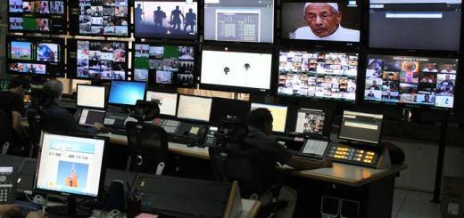 Sala de gestión de la TV digital.  Imagen: Victor Calomeni/ ArSat