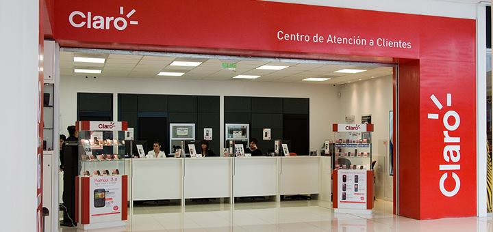 Centro de Atención al Cliente de Claro en Uruguay. Imagen: Claro