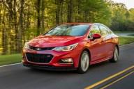 Chevrolet Cruze. Imagen: General Motors