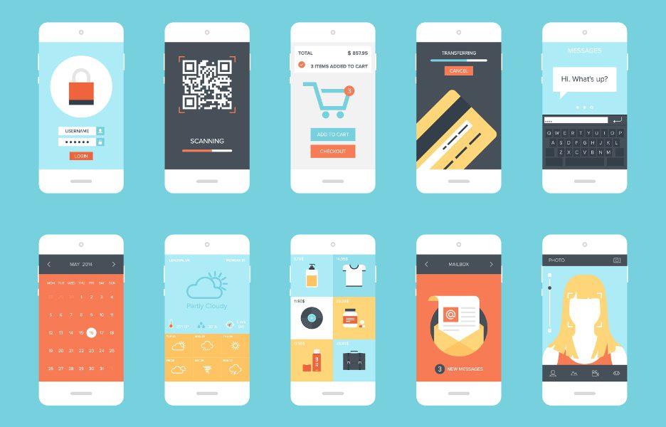 celulares aplicações mercado aparelhos base
