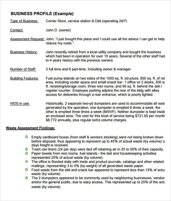 company profile template word - blaspiconthejunkexpress.tk